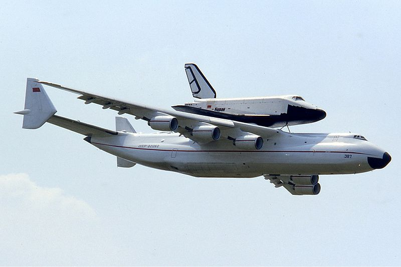 Antonov An-225 with Buran
